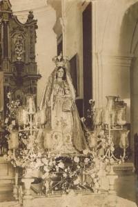 Virgen del Rosario Antigua