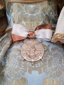 Medalla de la Hdad. Ntra. Sra. Virgen del Carmen de El Palo.
