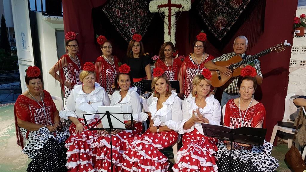 El coro Ntra. Sra. del Rosario en nuestra Cruz de mayo