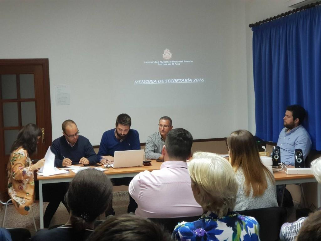 Mesa constituyente del Cabildo Ordinario de hermanos.