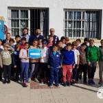 El colegio SAFA - ICET recibe la beca 'Rosario, Patrona de El Palo'