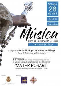 Concierto 'Música para la Patrona de El Palo' y presentación logotipo XXV Aniversario