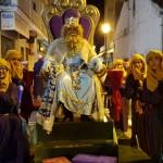 El Rey Gaspar acompañado por sus beduinos