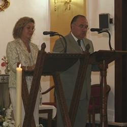 D. Antonio Fernández Escobedo y Dña. María del Carmen Díaz (2009).