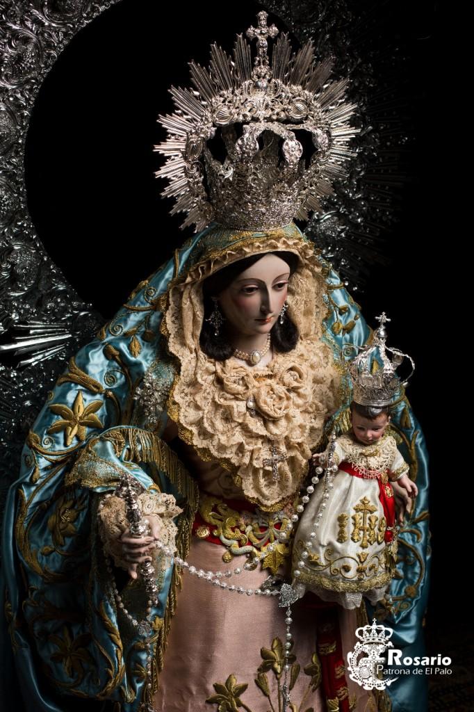 Nuestra Señora del Rosario, Patrona de El Palo.