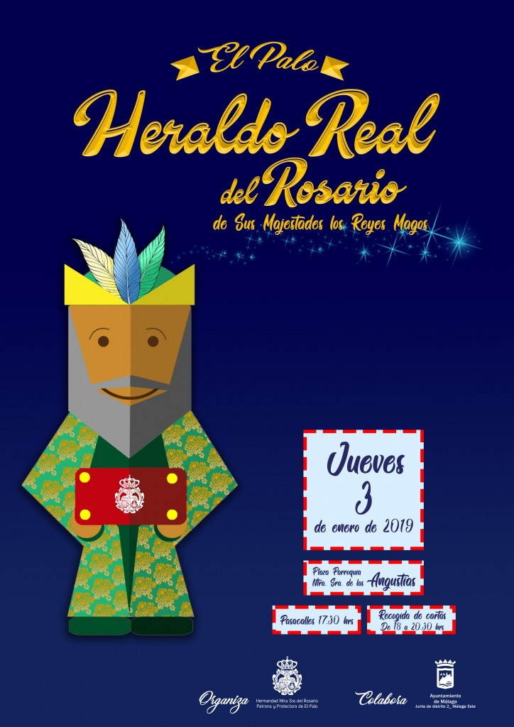 Heraldo Real 2019 - Cartel rrss