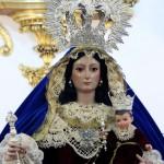 Ntra. Sra. del Rosario tras su restauración.