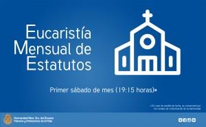 Eucaristía mensual de Estatutos @ Parroquia Ntra. Sra. de las Angustias