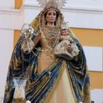 Ntra. Sra. del Rosario, durante el rosario de la aurora de 2019.